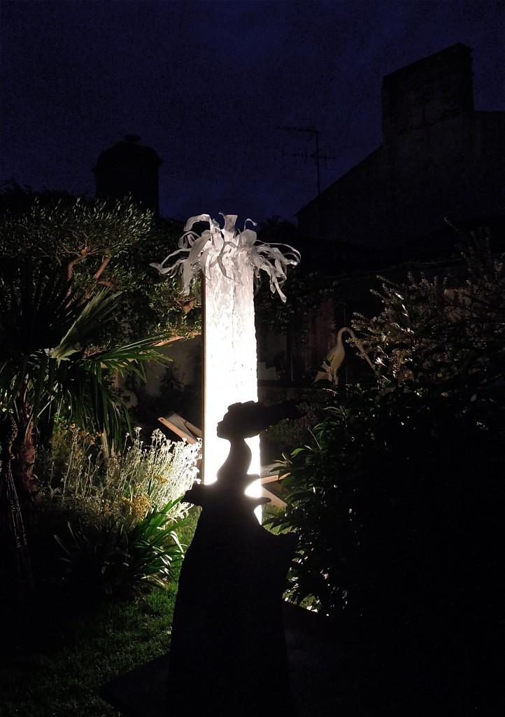 """Sculpture """"Espoir II"""" au jardin"""