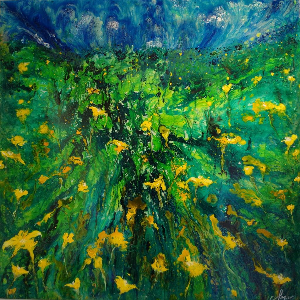 Iris dans le marais